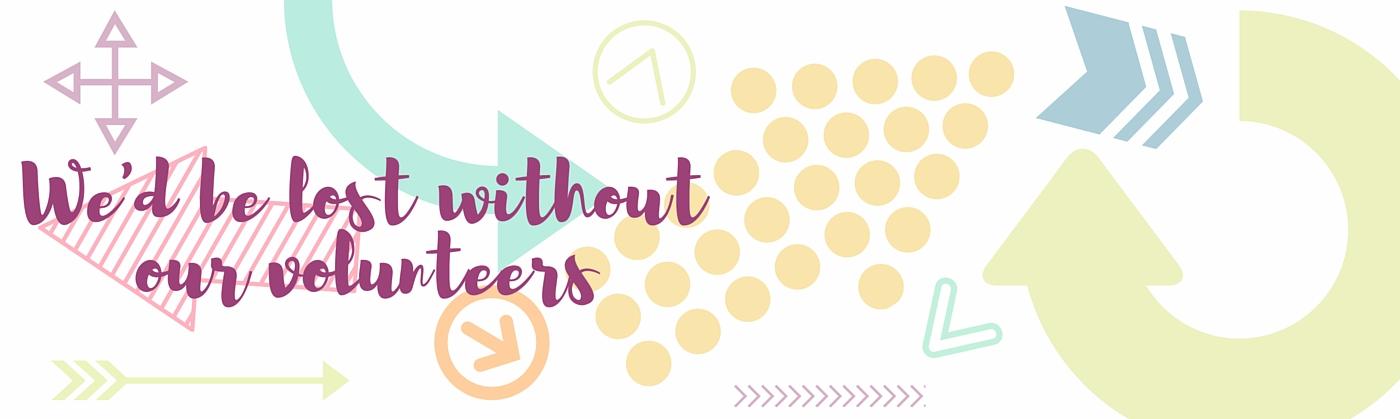 Volunteer Month Website Banner