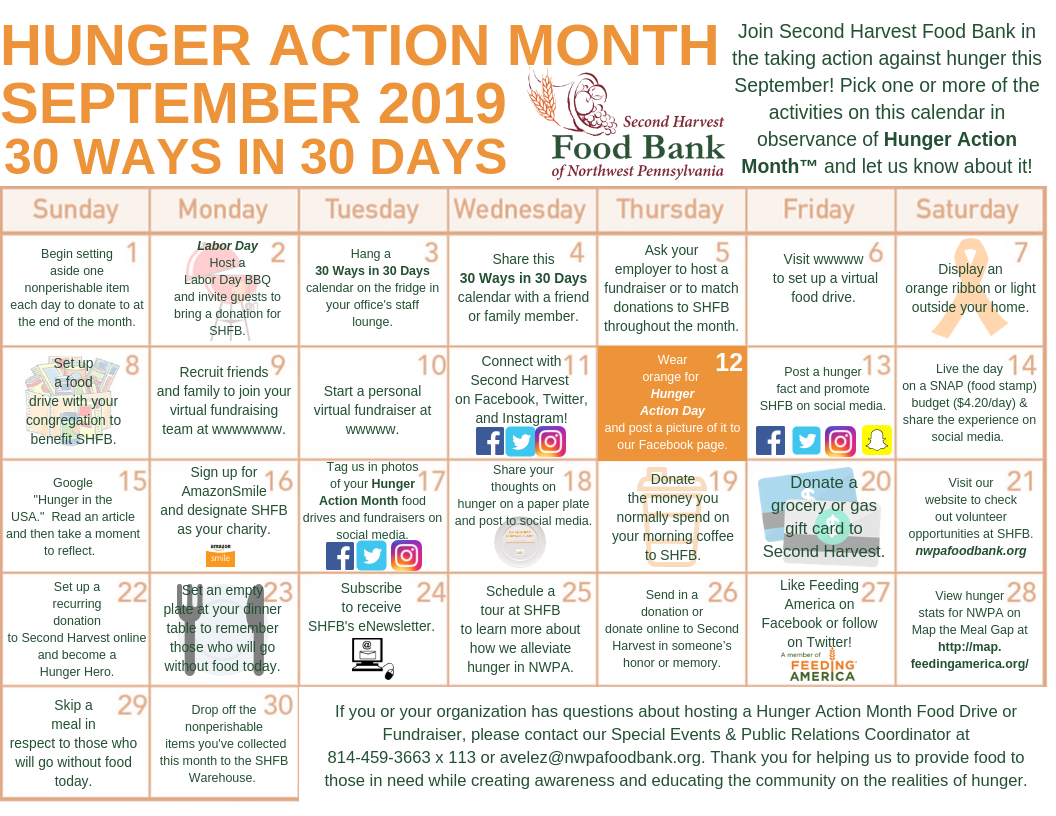 Community Events « Food Bank