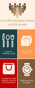 Volunteer Impact infographic