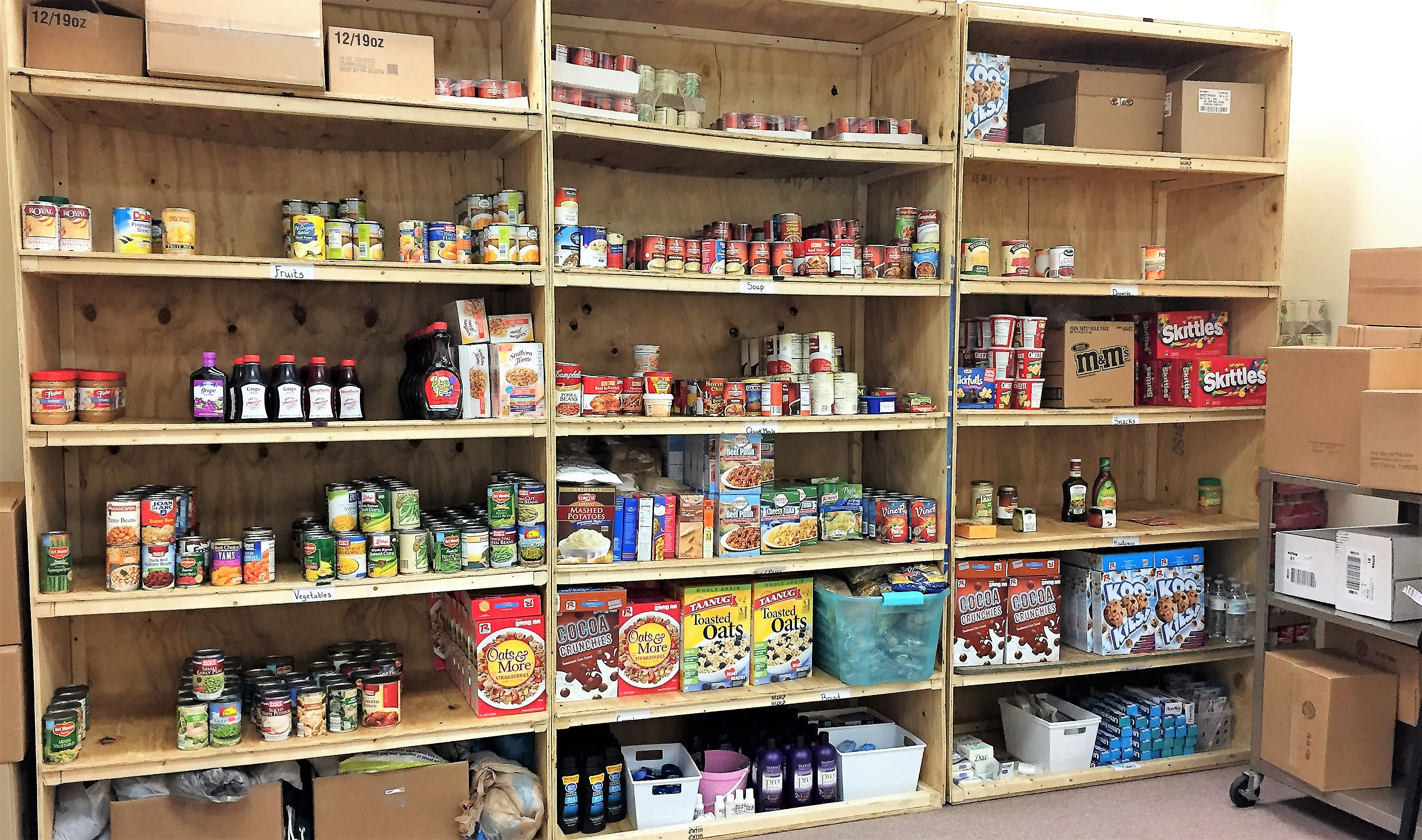 how to start a food pantry at college