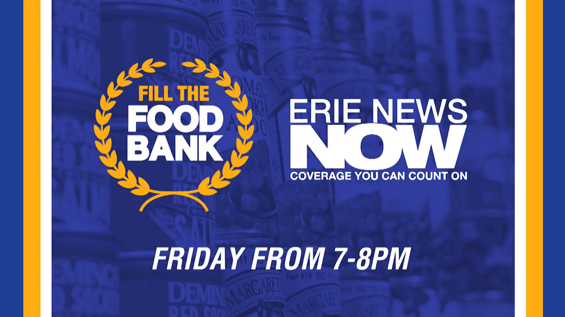 Erie News Now Fill the Food Bank